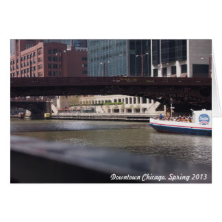 Downtown Chicago, Spring 2013 Card