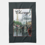 Downtown Chicago Water Tower Place Hand Towels