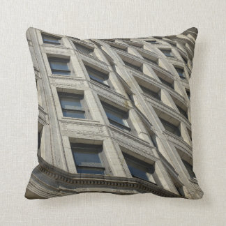 Downtown Chicago Window Abstract Pillows
