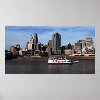 Downtown Cincinnati Poster
