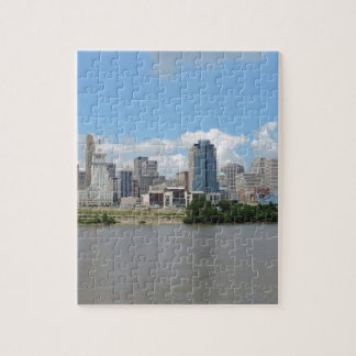 Downtown Cincinnati skyline Jigsaw Puzzle
