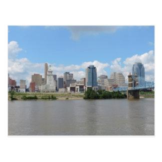 Downtown Cincinnati skyline Postcard