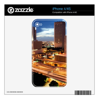Downtown City View Decal For The iPhone 4S