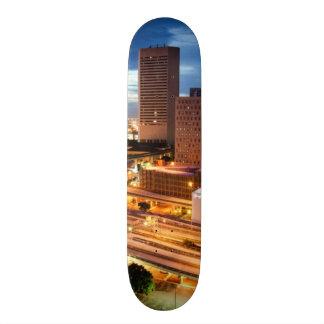 Downtown City View Skateboard