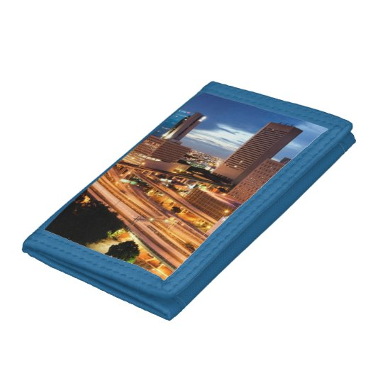Downtown City View Trifold Wallets