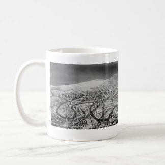 Downtown Cleveland in 1937 Coffee Mug