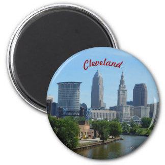 Downtown Cleveland Riverview Magnet