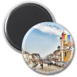 Downtown Cluj Napoca Fridge Magnets