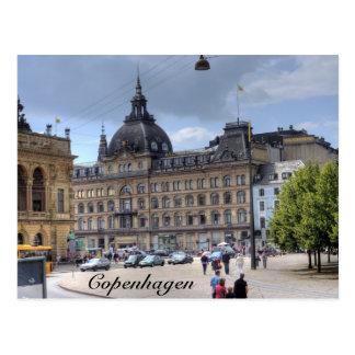 Downtown Copenhagen Post Card