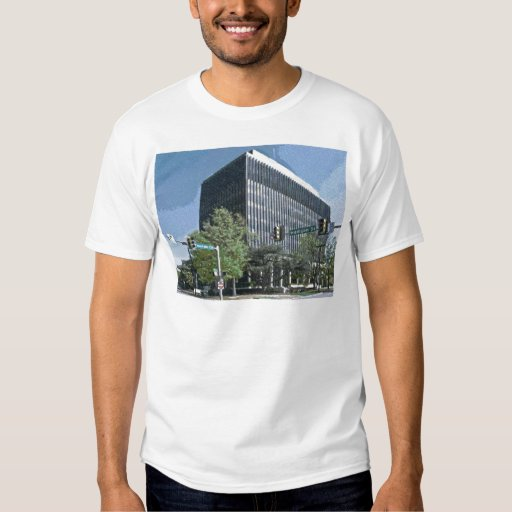Downtown Courthouse of Huntsville, Alabama T-Shirt