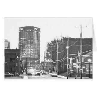 Downtown (Dahntahn) Pittsburgh Card