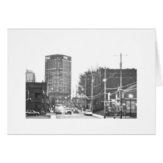Downtown (Dahntahn) Pittsburgh Stationery Note Card