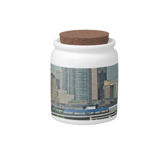 Downtown Denver Colorado City Skyline Candy Dishes
