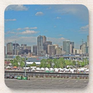 Downtown Denver Colorado City Skyline Coaster