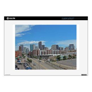 "Downtown Denver Colorado City Skyline copy.jpg Decals For 15"" Laptops"