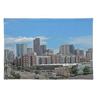 Downtown Denver Colorado City Skyline copy.jpg Placemat