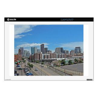 "Downtown Denver Colorado City Skyline copy.jpg Skins For 17"" Laptops"
