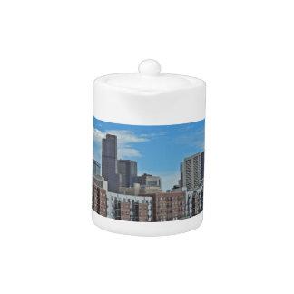 Downtown Denver Colorado City Skyline copy.jpg Teapot