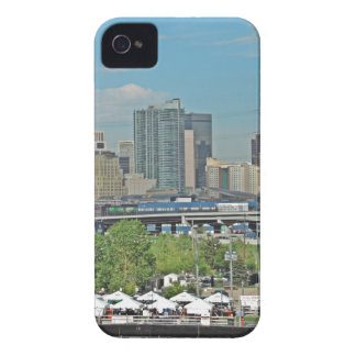 Downtown Denver Colorado City Skyline iPhone 4 Case