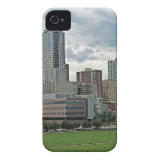 Downtown Denver Colorado City Skyline iPhone 4 Case-Mate Case