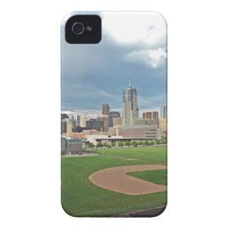 Downtown Denver Colorado City Skyline iPhone 4 Cover