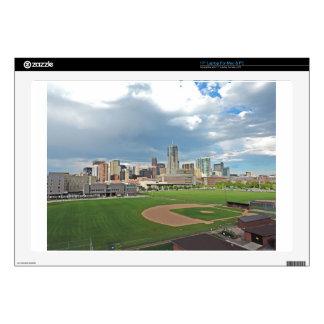 Downtown Denver Colorado City Skyline Laptop Skins