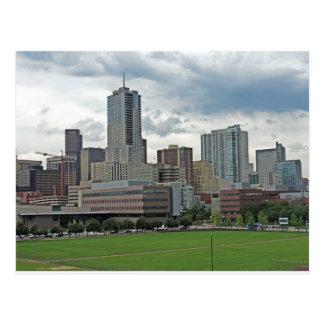 Downtown Denver Colorado City Skyline Postcard