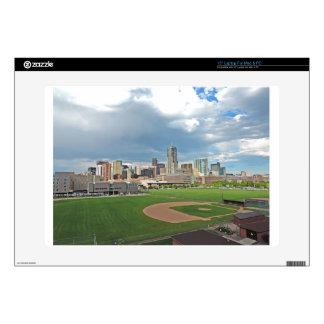 Downtown Denver Colorado City Skyline Skin For Laptop