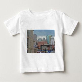 Downtown Denver Colorado Skyline Baby T-Shirt