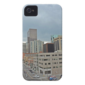 Downtown Denver Colorado Skyline Case-Mate iPhone 4 Case