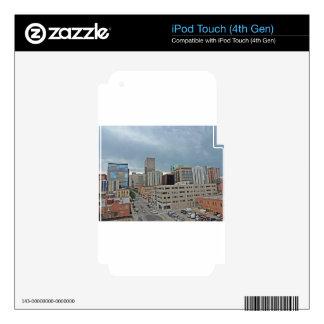 Downtown Denver Colorado Skyline iPod Touch 4G Skin