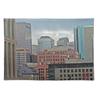 Downtown Denver Colorado Skyline Placemat
