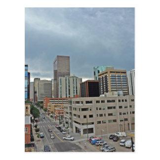 Downtown Denver Colorado Skyline Postcard
