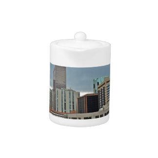 Downtown Denver Colorado Skyline Teapot