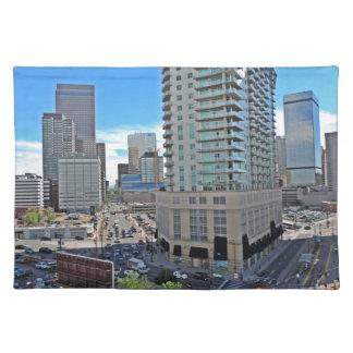 Downtown Denver Colorado Skyscrapers Placemat