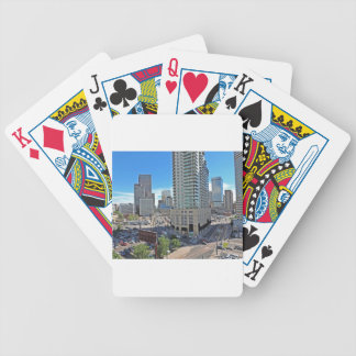 Downtown Denver Colorado Skyscrapers Bicycle Playing Cards