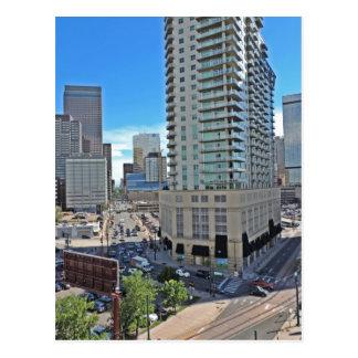 Downtown Denver Colorado Skyscrapers Postcard
