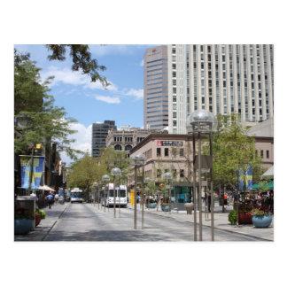 Downtown Denver. Postcard