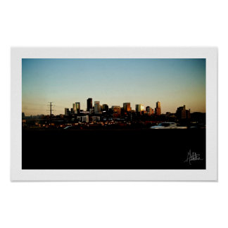 Downtown Denver [Print] Poster