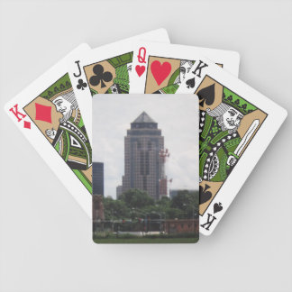 Downtown Des Moines, Iowa Bicycle Playing Cards