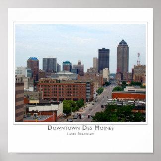 Downtown Des Moines Print