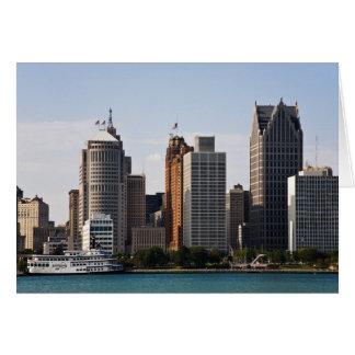 Downtown Detroit Card