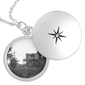 Downtown Detroit Silver Plated Necklace