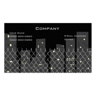 Downtown Double-Sided Standard Business Cards (Pack Of 100)