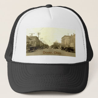 Downtown Dover, Ohio (Canal Dover) early 1900's Trucker Hat
