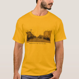 Downtown Dover, Ohio circa early 1900's T-Shirt