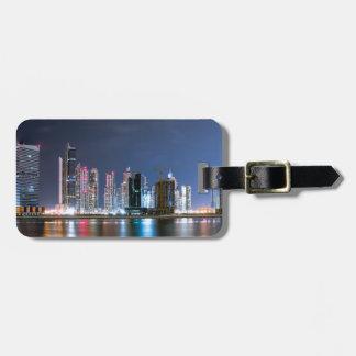 Downtown Dubai Luggage Tag