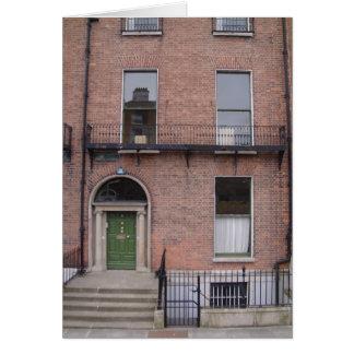 Downtown Dublin Building Card