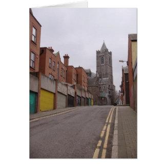 Downtown Dublin Walk Card