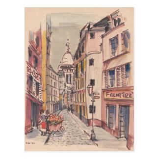 Downtown Europe Postcard